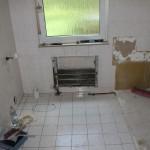 Kleines Bad vor dem Bau