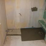 Dusche mit Duschsitz