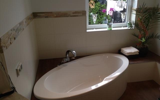 Kleines Bad mit Fenster